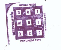 Networker Congress stamp