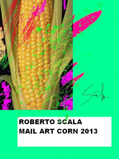 Roberto Scala :: Corn sketch, Italy