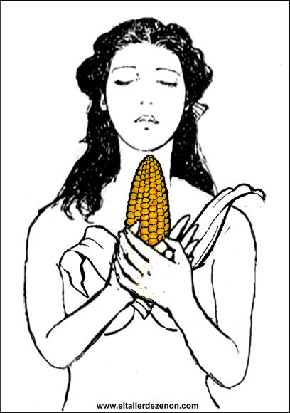 Miguel Jimenez - El Taller de Zenón :: The girl of the corn