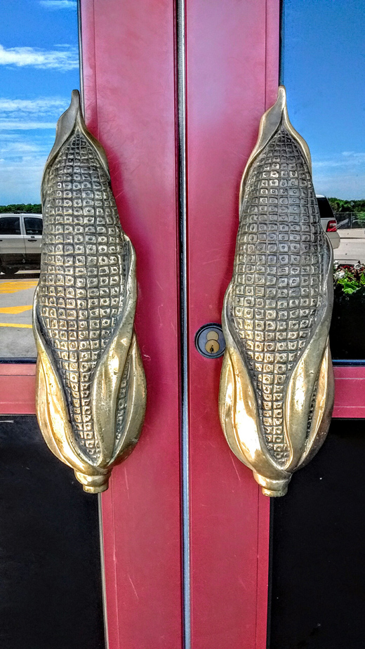 corn door handles