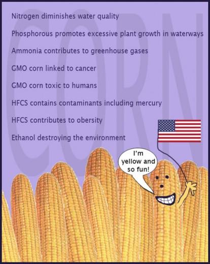 Nancy Raen-Mendez :: Corn it's yellow and fun!, digital, USA