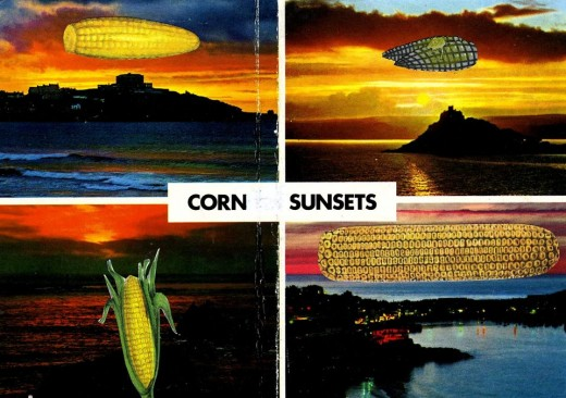 Michael Leigh :: Corn Sunsets, Collage, UK